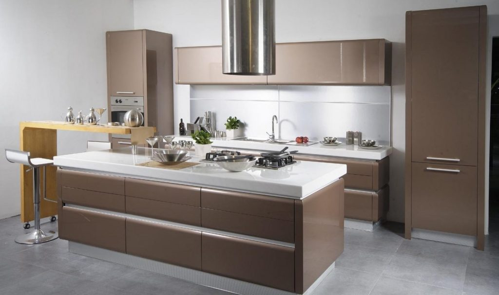 muebles melamina Muebles de cocina de melamina Imágenes y fotos