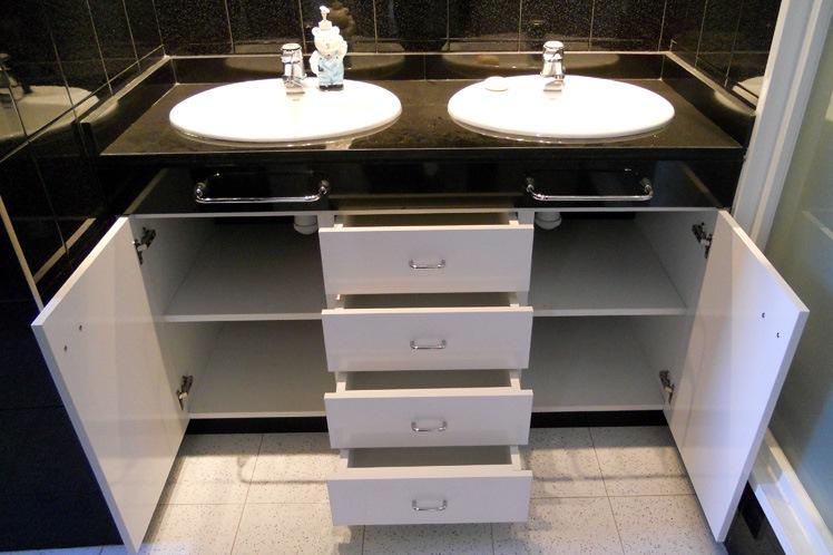 muebles de malamina peru baños a medida modulables